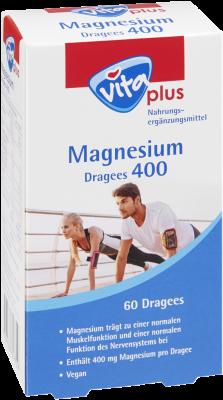 vita plus Magnesium Dragees 400