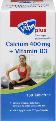 vita plus Calcium 400 mg + Vitamin D3