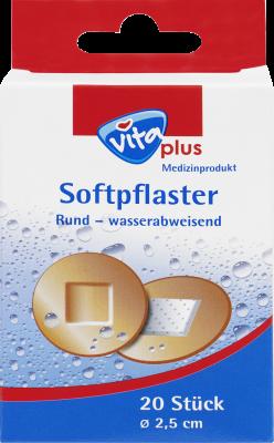 Softpflaster Rund – wasserabweisend