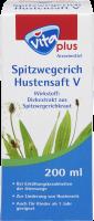 Spitzwegerich Hustensaft V - vita plus