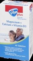 vita plus Magnesium + Calcium + Vitamin D3