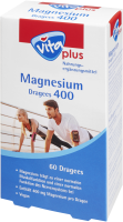 vita plus Magnesium Dragees 400