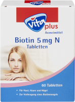 vita plus Biotin 5 mg N Tabletten