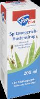 vita plus Spitzwegerich-Hustensirup